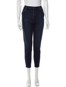 J Brand Mid-Rise Skinny Leg Jeans