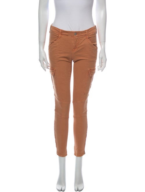 J Brand Skinny Leg Pants Orange