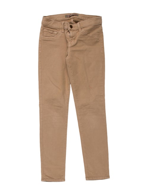 J Brand The Capri Skinny Leg Pants