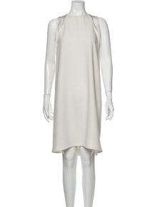 J Brand Crew Neck Knee-Length Dress