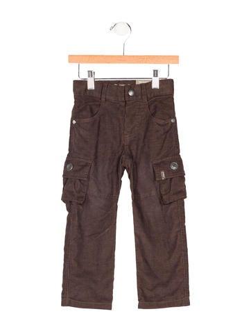 Jean Bourget Boys' Corduroy Cargo Pants w/ Tags None