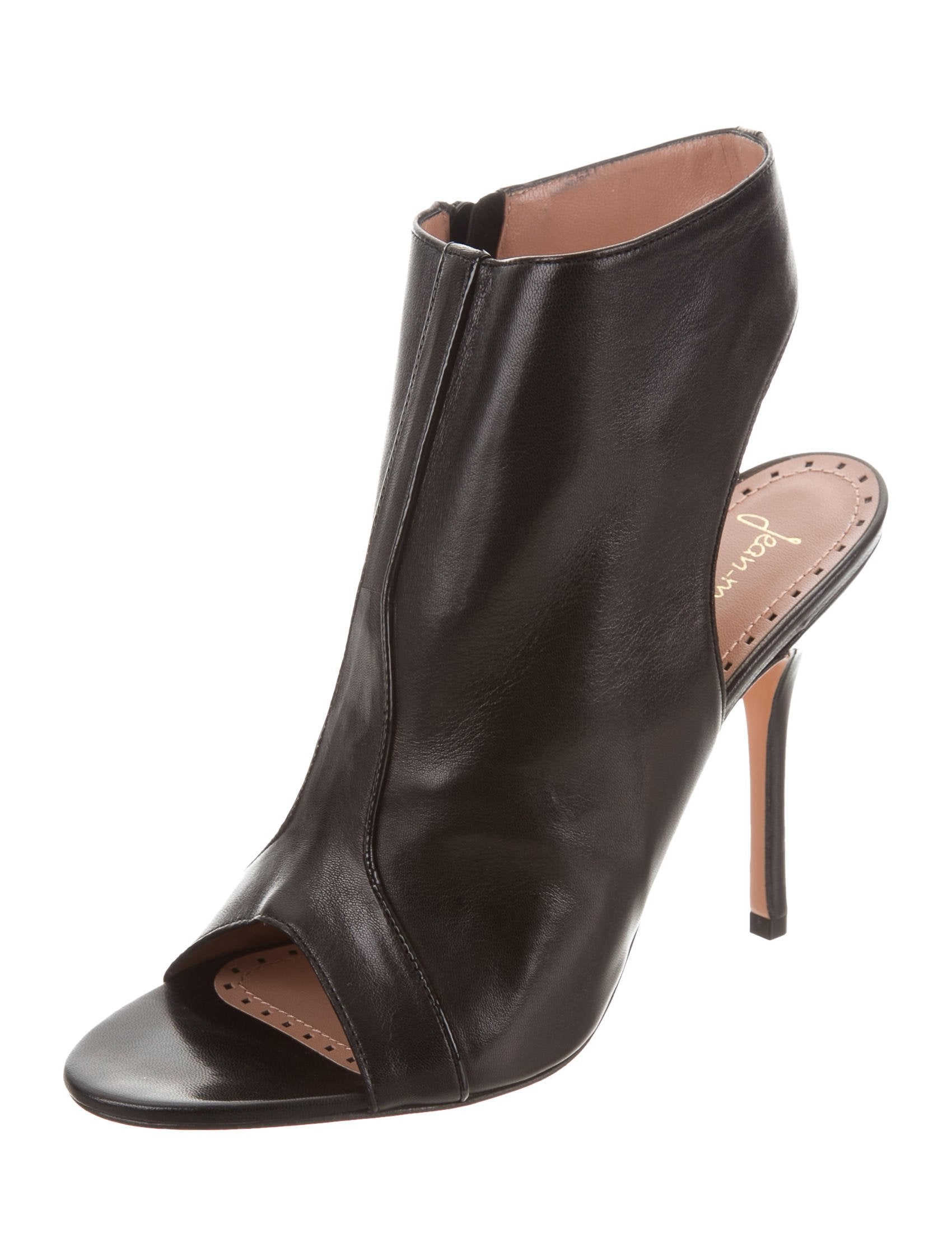 Jean-Michel Cazabat Ophelia Peep-Toe Booties w/ Tags footlocker pictures for sale SPYOLqot9i