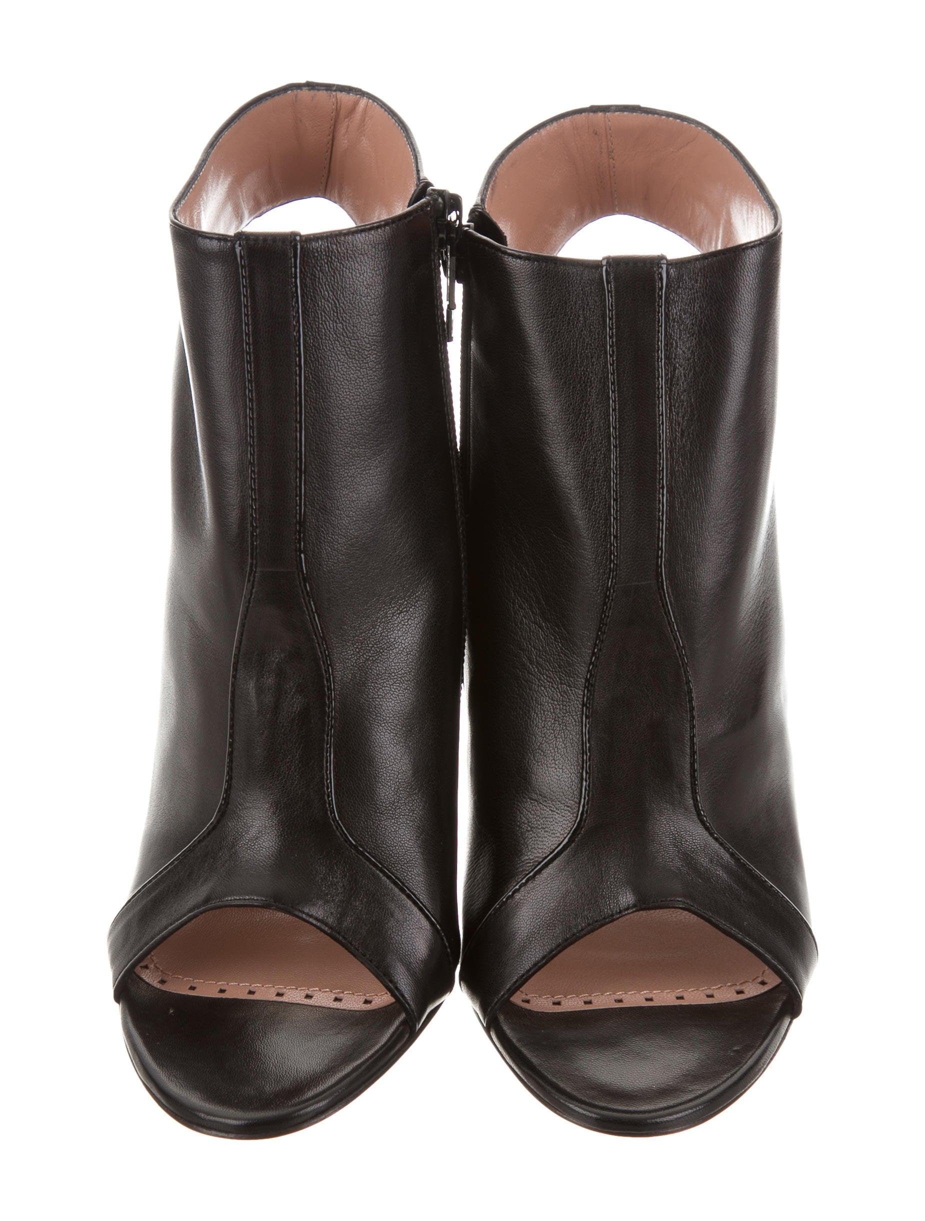 Jean-Michel Cazabat Ophelia Peep-Toe Booties w/ Tags real cheap price clearance pre order WlPiYe1So