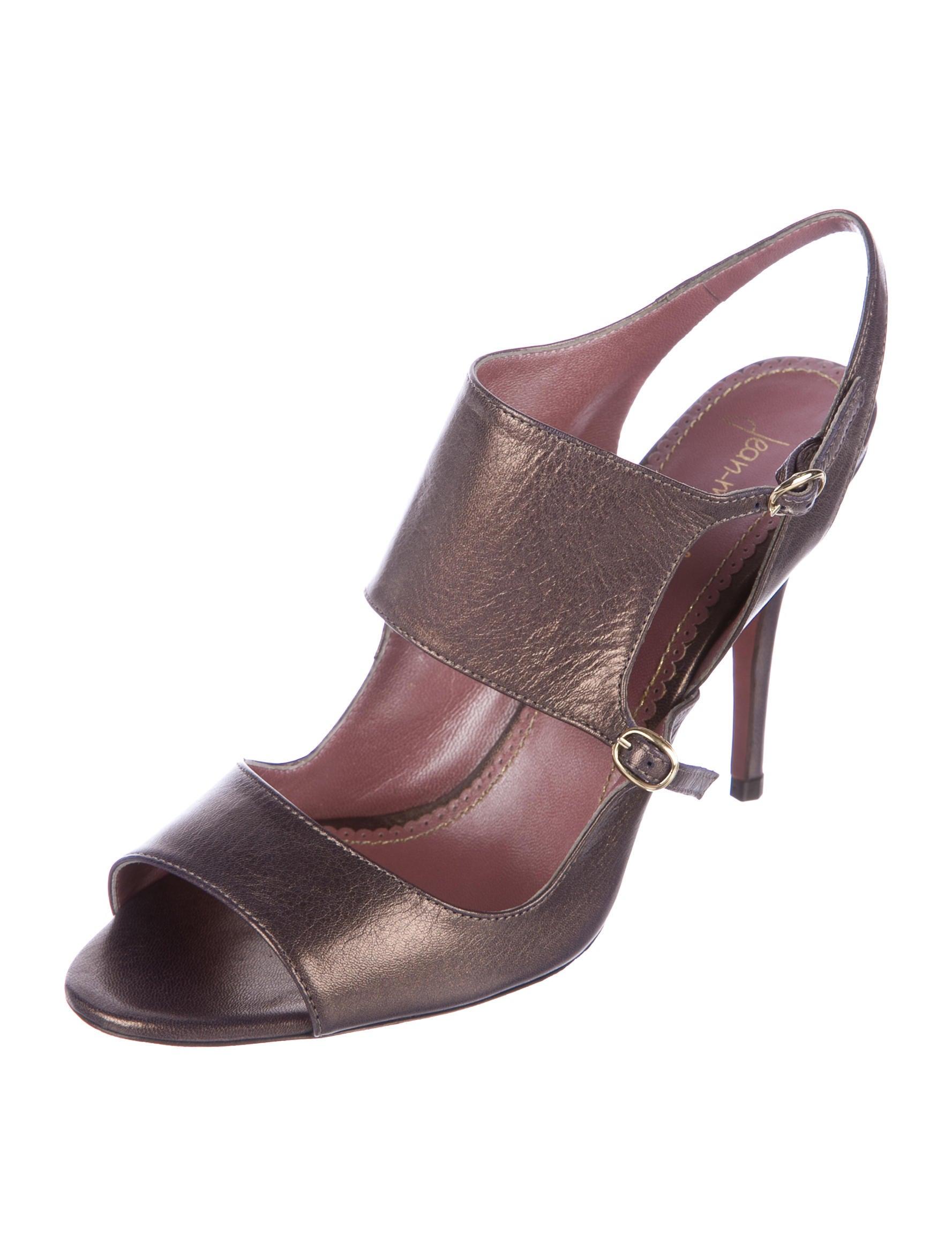 clearance big discount outlet 2015 Jean-Michel Cazabat Metallic Cutout Sandals JfNP1f