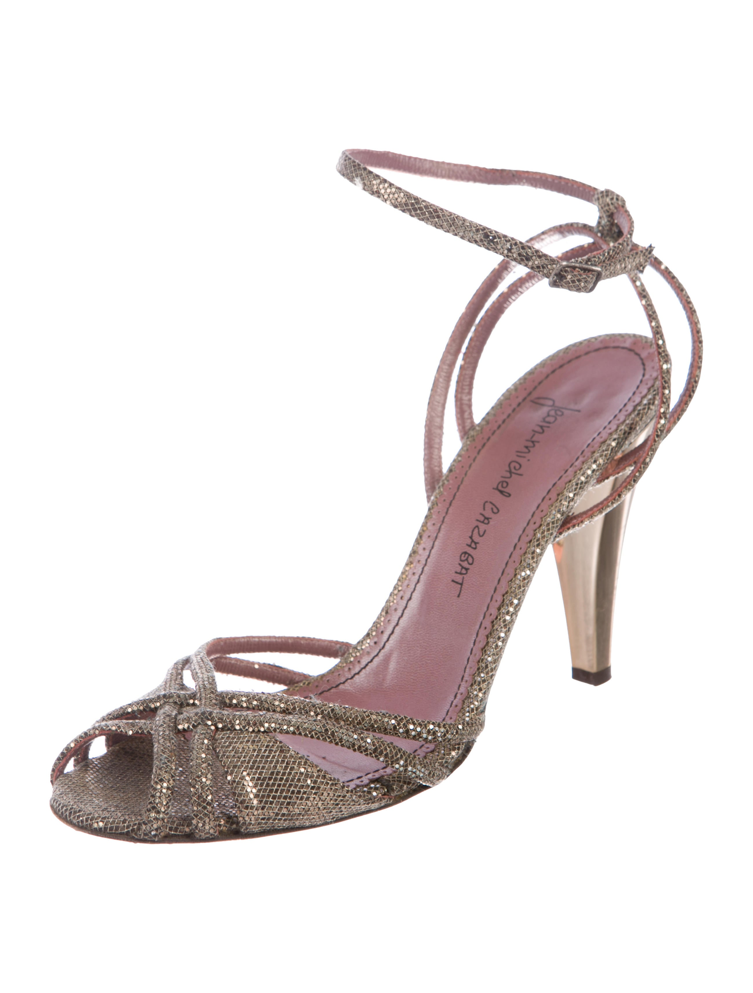 2014 for sale cheap sale wiki Jean-Michel Cazabat Glitter Multistrap Sandals the cheapest cheap online clearance best seller outlet 100% authentic H62txk