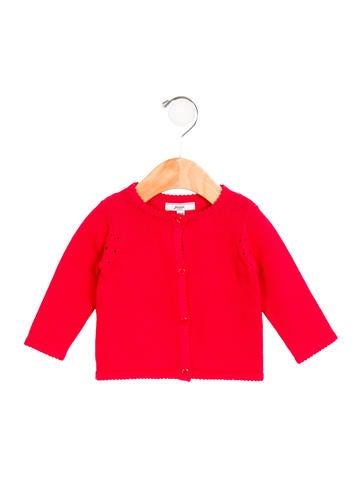 Jacadi Girls' Knit Button-Up Cardigan None