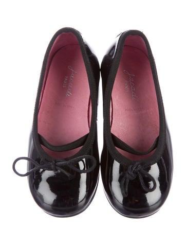 Girls' Patent Leather Ballerina Flats