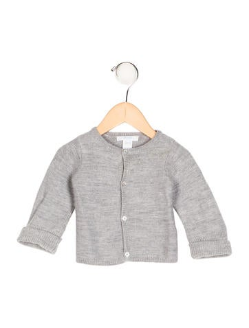 Jacadi Boys' Wool Rib Knit Cardigan None
