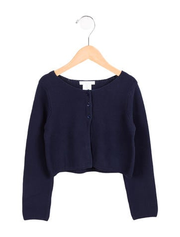 Jacadi Girls' Button-Up Cardigan None