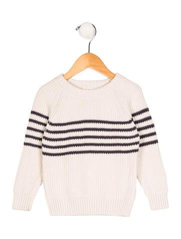 Jacadi Boys' Rib Knit Striped Sweater None