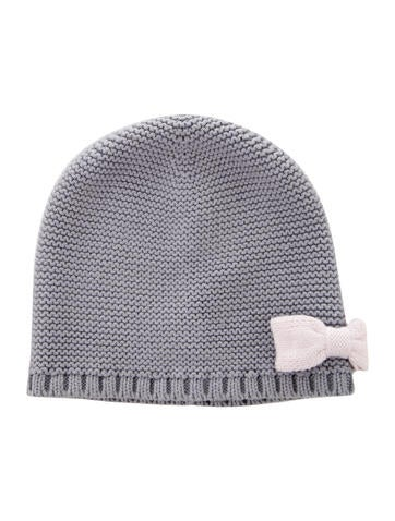 Jacadi Girls' Bow-Accented Knit Beanie None