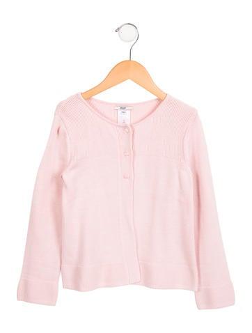 Jacadi Girls' Button-Up Cardigan None