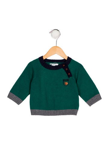 Jacadi Boys' Wool-Blend Sweater None