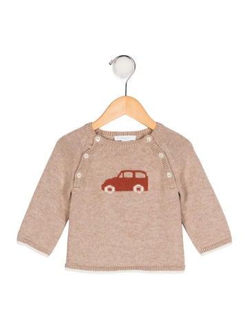 Jacadi Boys' Wool-Blend Sweater None