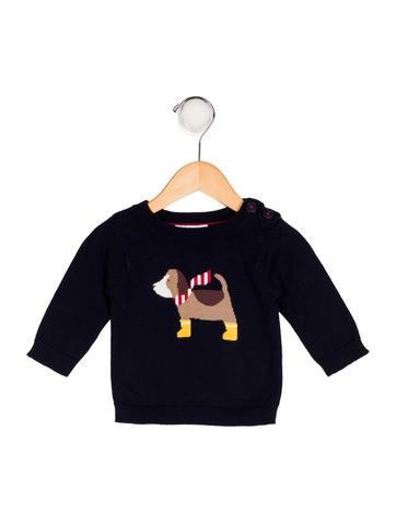 Jacadi Boy' Knit Intarsia Sweater None