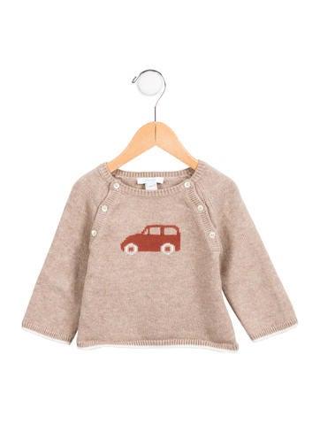Jacadi Boy' Car Intarsia Sweater None