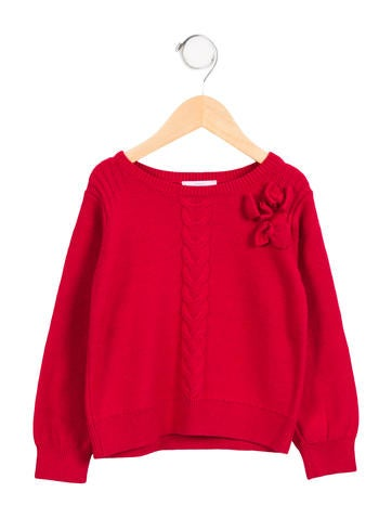 Jacadi Girls' Casual Long Sleeve Sweater None