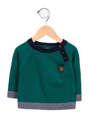 Jacadi Boys' Wool-Blend Colorblock Sweater None