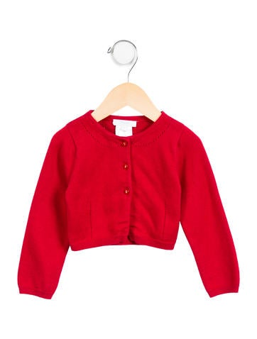 Jacadi Girls' Knit Button-Up Cardigan None