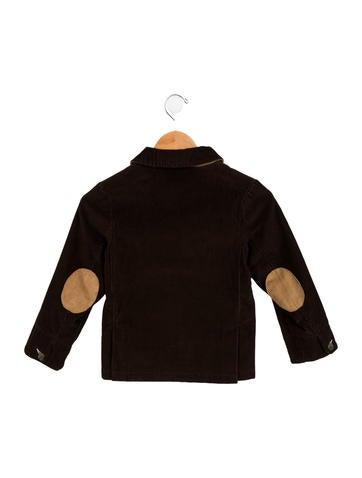 Boys' Corduroy Notch-Lapel Jacket
