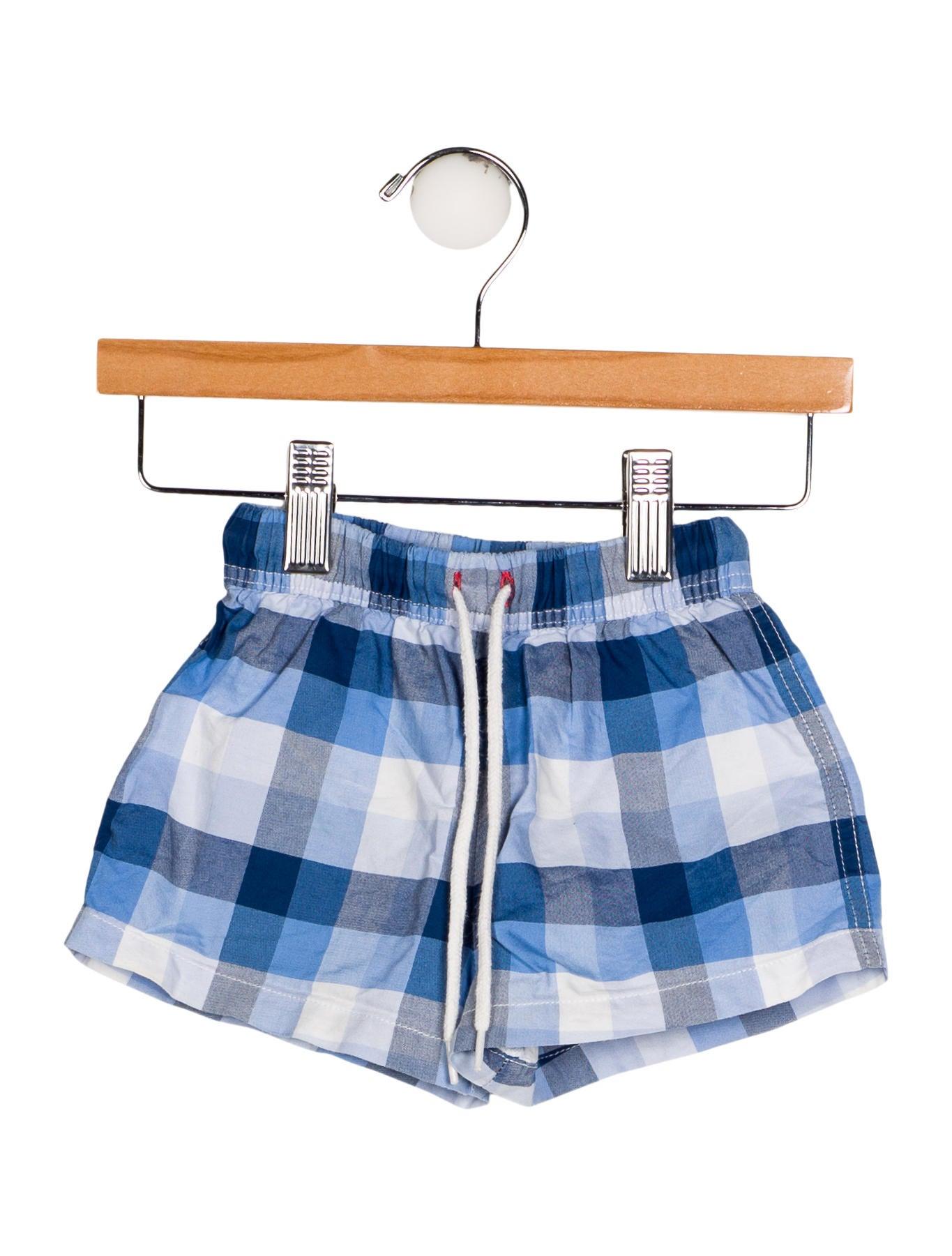 03d30f93f6ee9 Jacadi Boys' Gingham Swim Shorts - Boys - WJDCI22813 | The RealReal