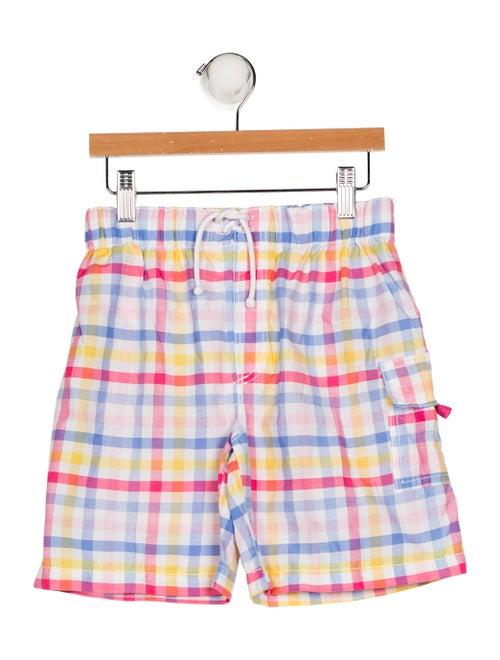 d8d2a5eafd18a Jacadi Boys' Plaid Knee-Length Shorts - Boys - WJDCI24208 | The RealReal