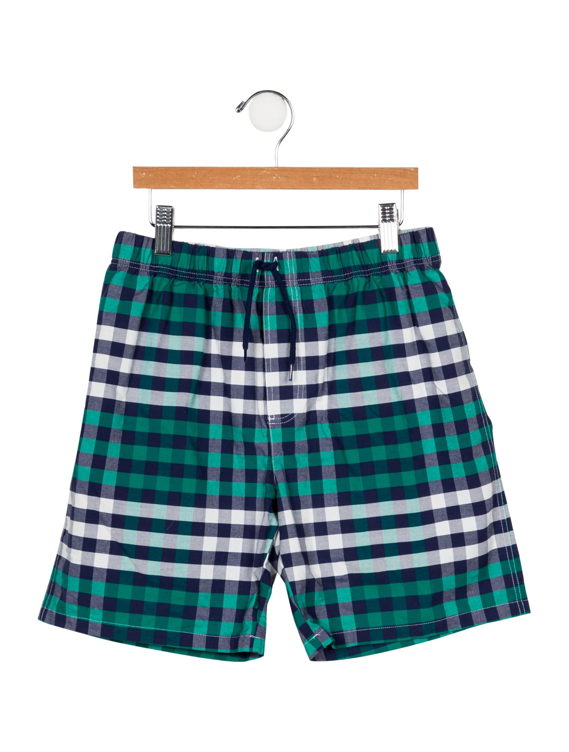 2c6d9649c87d7 Jacadi Boys' Checkered Swim Shorts - Boys - WJDCI27404 | The RealReal