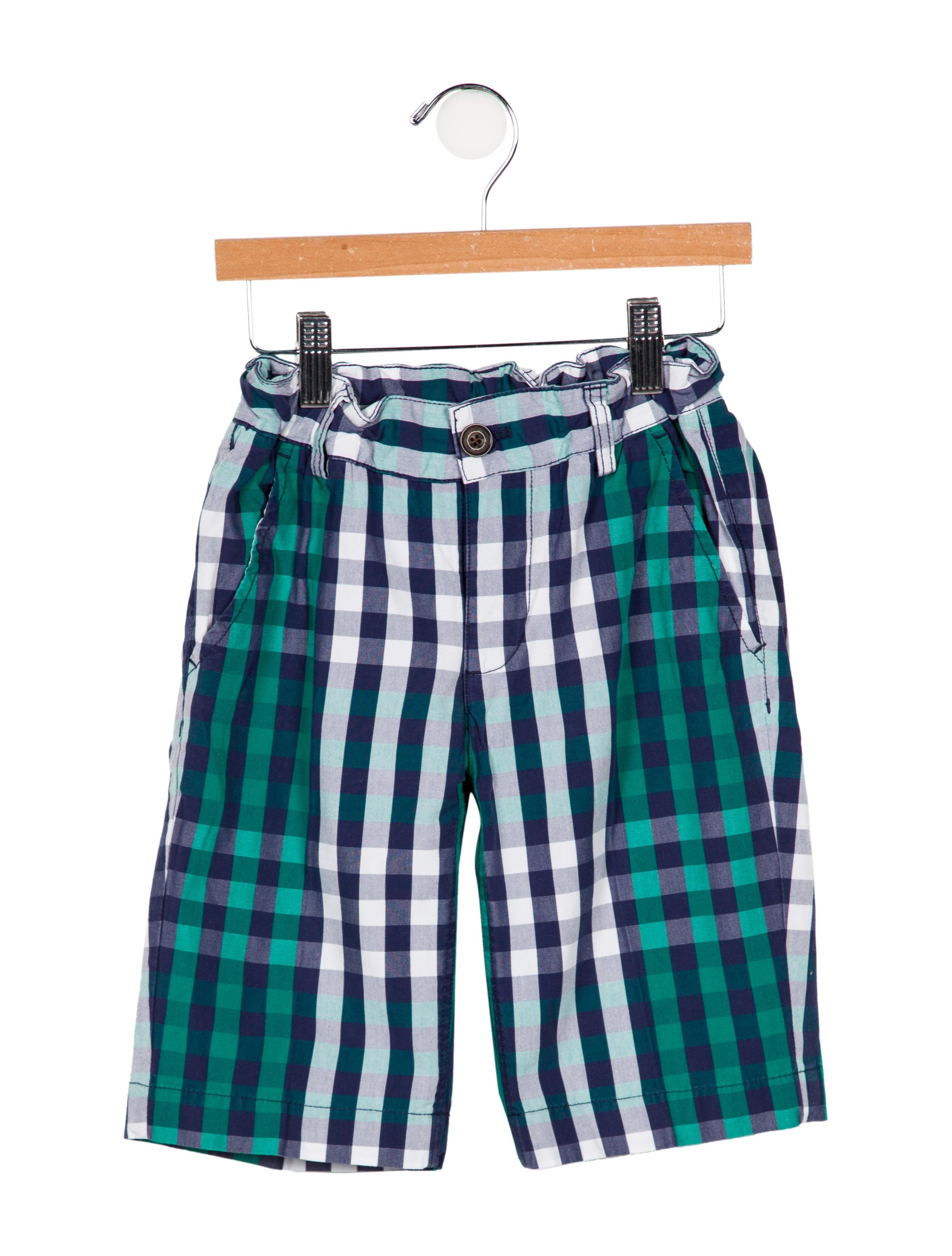 b850986209610 Jacadi Boys' Checkered Woven Shorts - Boys - WJDCI27942 | The RealReal