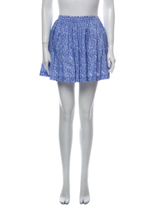 Jacadi Floral Print Mini Skirt
