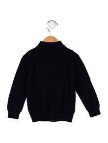 Jacadi Boys' Long Sleeve Zip-Up Sweater