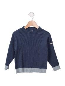 Jacadi Boys' Wool-Blend Long Sleeve Sweater