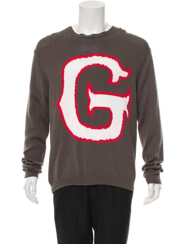 Julien David Intarsia Crew Neck Sweater w/ Tags None