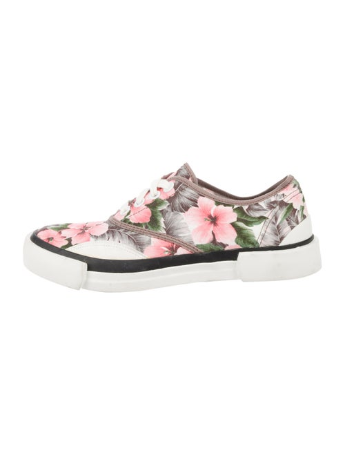 Julien David Floral Floral Print Sneakers
