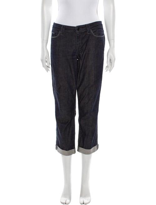 Joe's Jeans Mid-Rise Straight Leg Jeans Blue