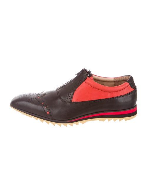 John Fluevog Leather Oxfords Black