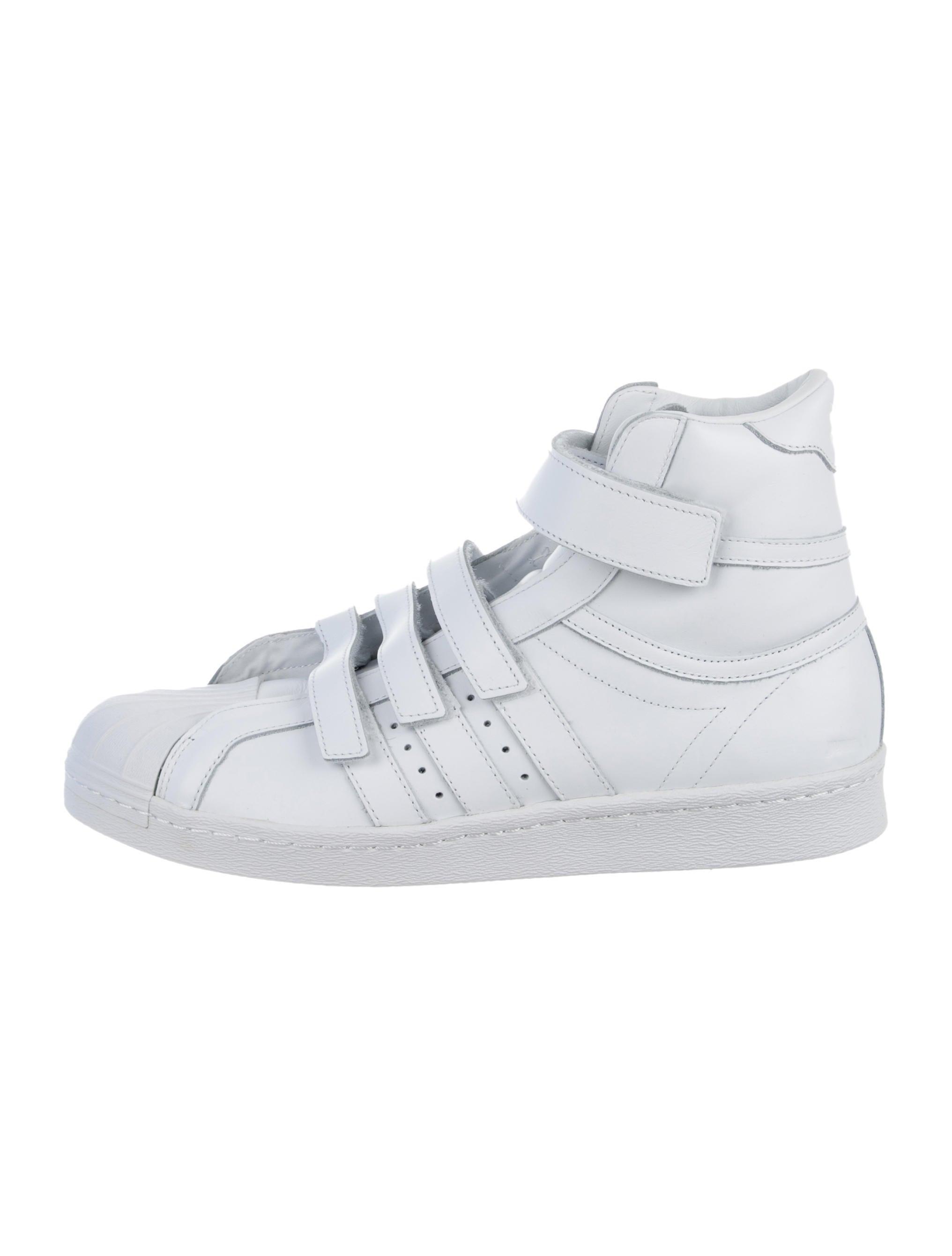a0190131721 Juun.J x Adidas Juun J x Adidas Promodel 80s Hi JJ High-Top Sneakers w   Tags - Shoes - WJJXA20010