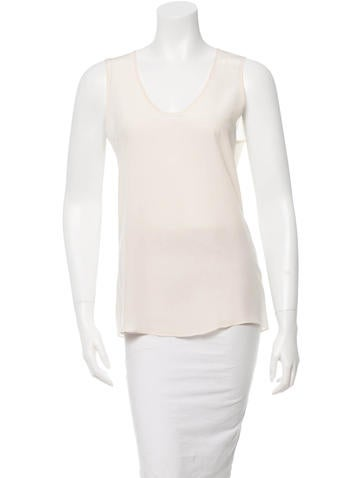 Jenni Kayne Silk Sleeveless Top None