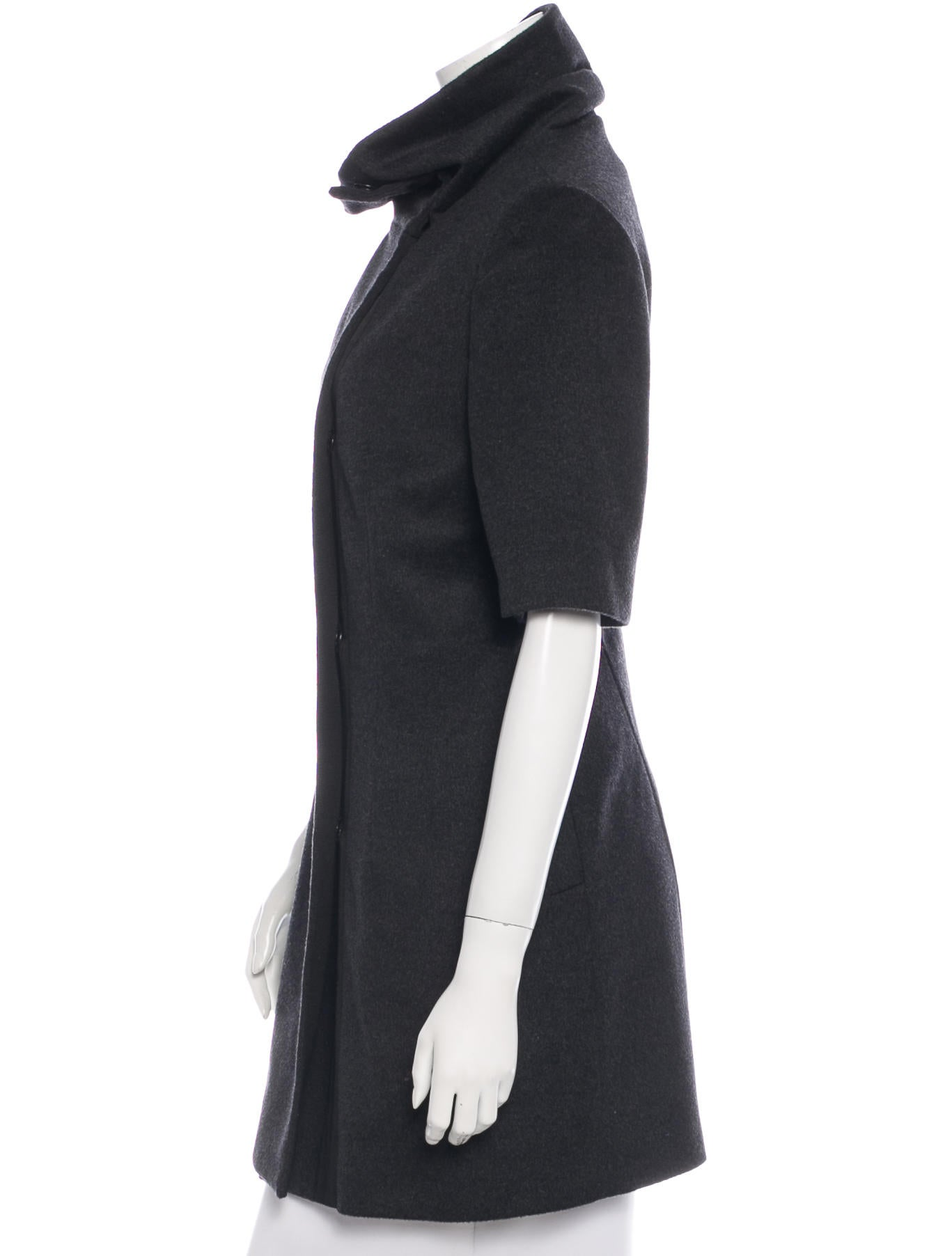 Jenni Kayne Short Sleeve Wool Coat - Clothing - WJK23182 | The