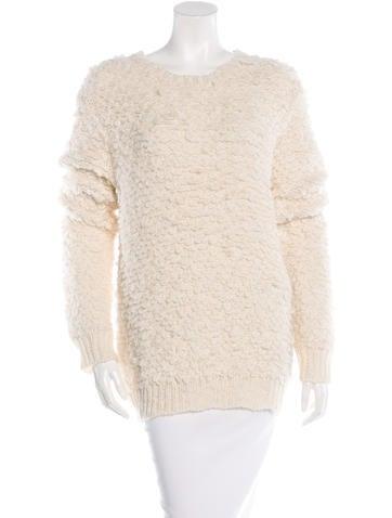 Jenni Kayne Alpaca-Blend Rib Knit Sweater None