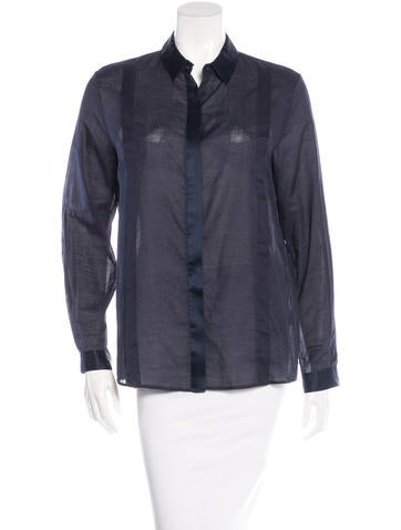 Jenni Kayne Long Sleeve Button-Up Top None