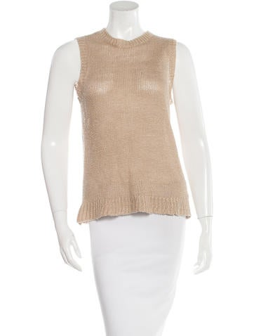 Jenni Kayne Linen Sleeveless Top None