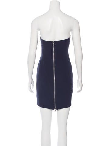 Silk Mini Dress