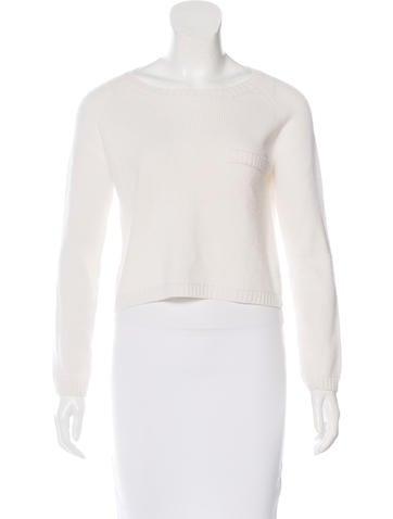 Jenni Kayne Cropped Cashmere Sweater None