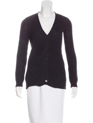 Jenni Kayne Rib Knit V-Neck Cardigan None