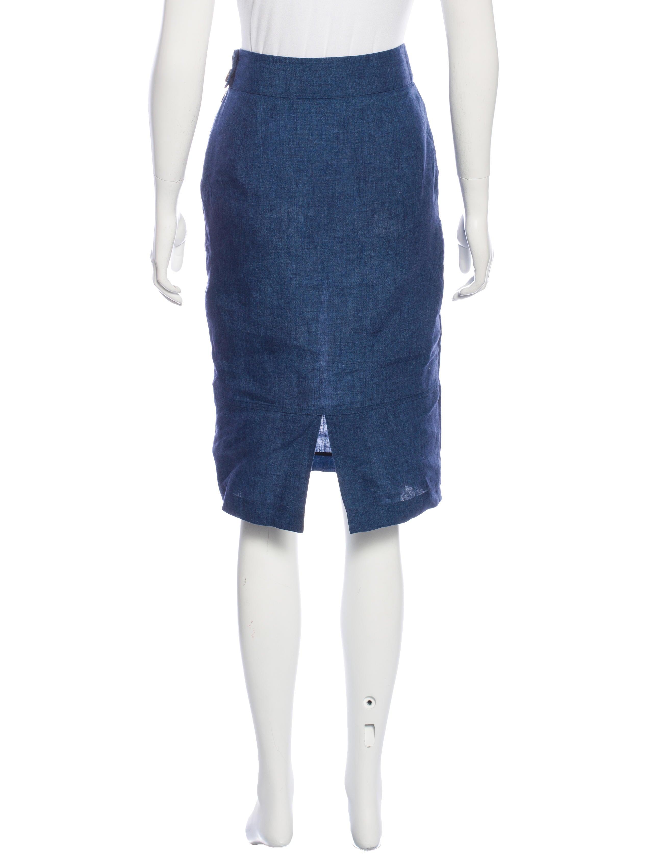 kayne linen pencil skirt clothing wjk24364 the