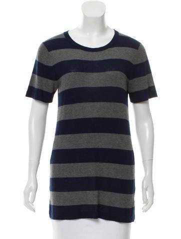 Jenni Kayne Striped Longline Sweater None