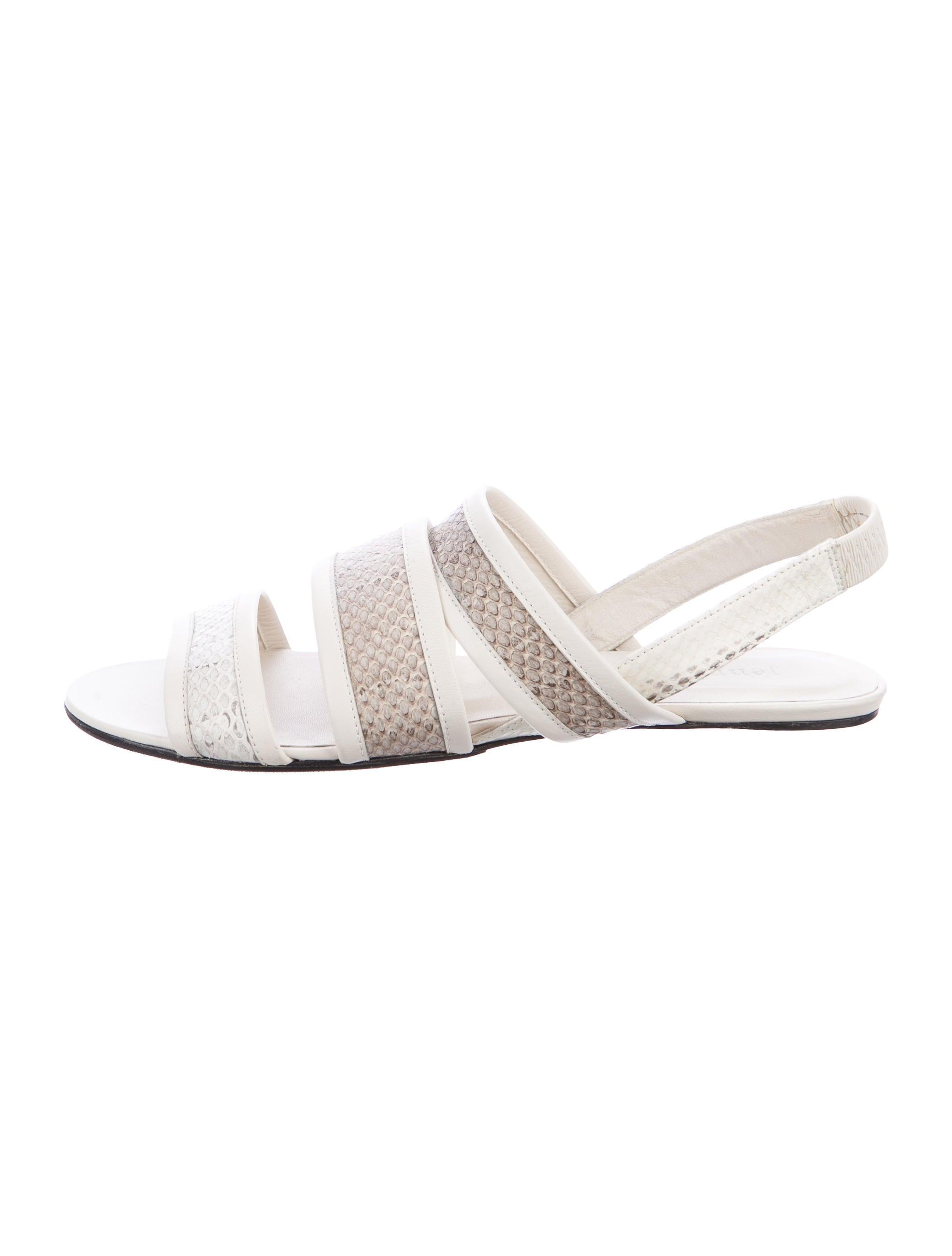 official for sale discount wholesale Jenni Kayne Snakeskin Slingback Sandals classic szd5e