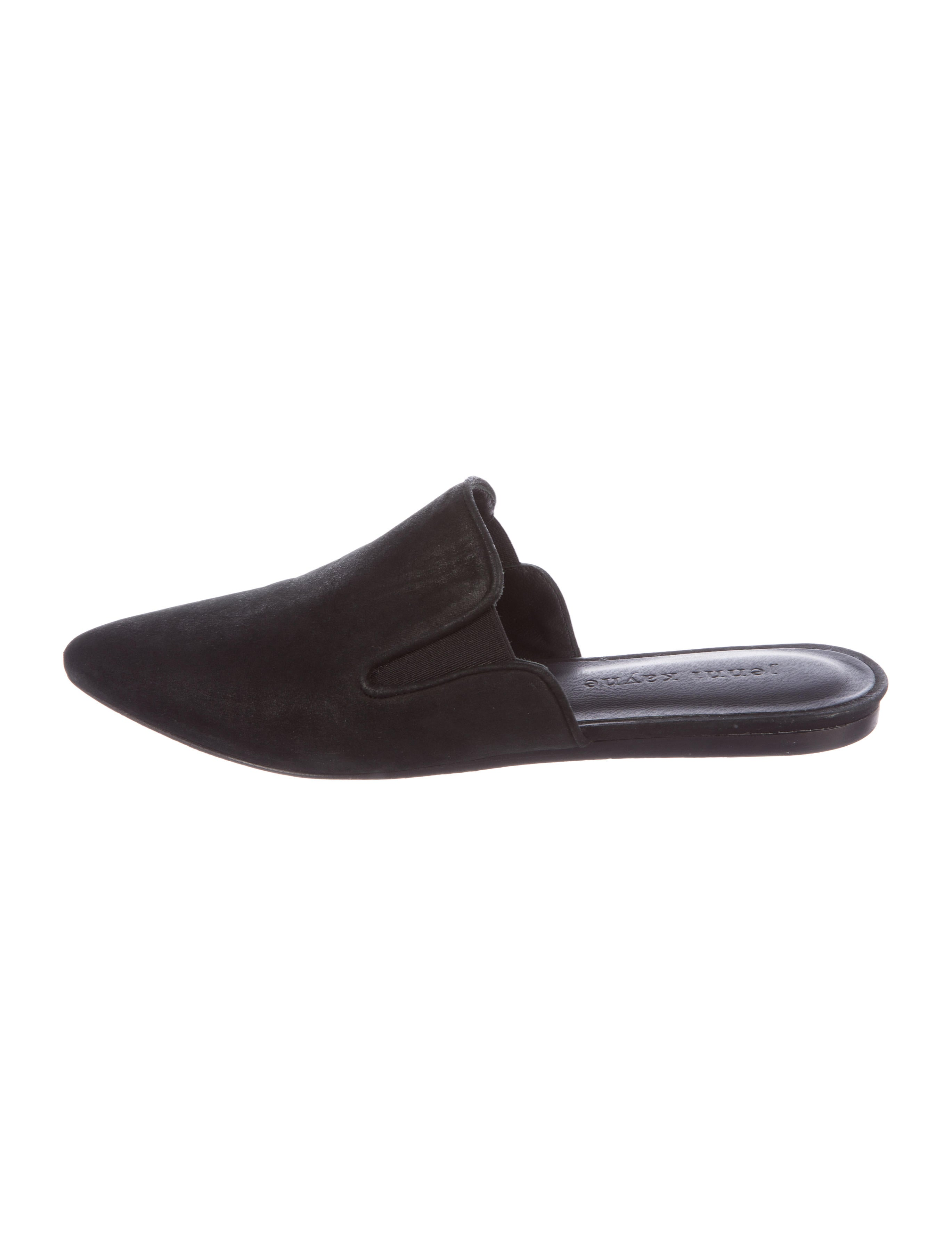cheap price Jenni Kayne Nubuck Pointed-Toe Mules outlet locations online outlet good selling S3oQA