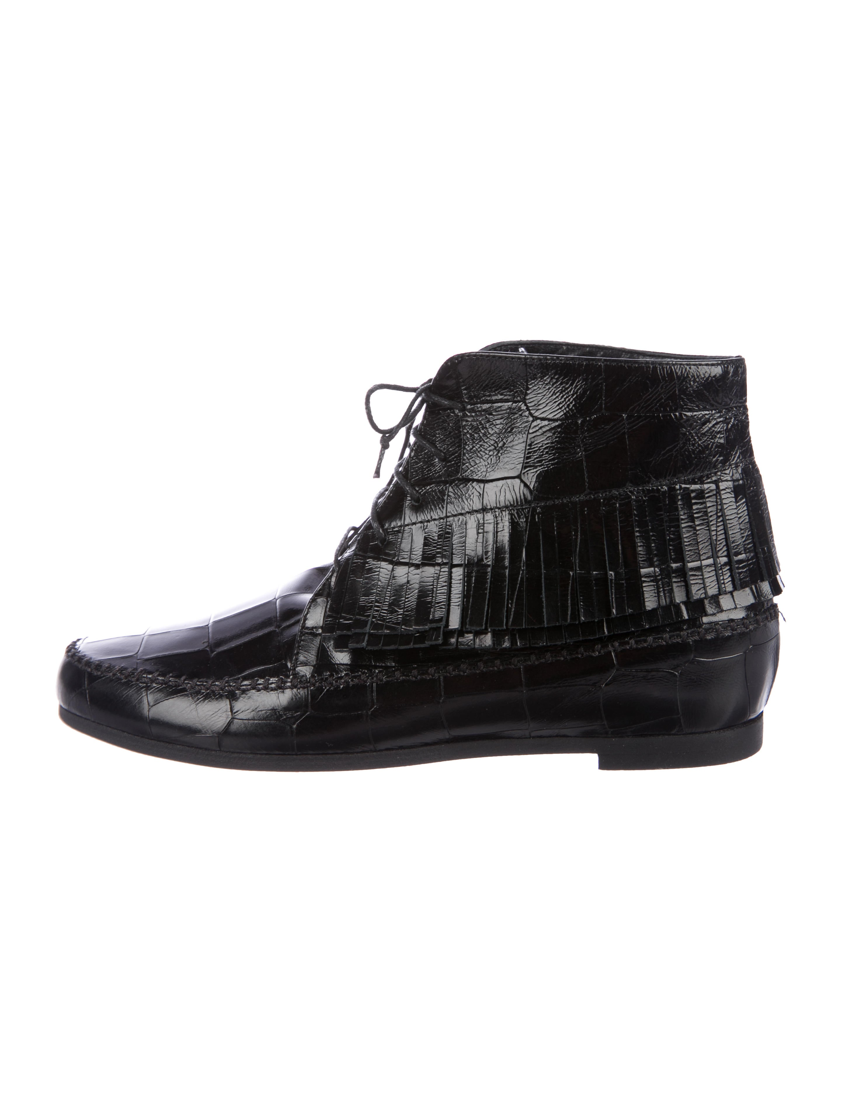 Jenni Kayne Embossed Leather Booties buy cheap real 2Uj6phQA