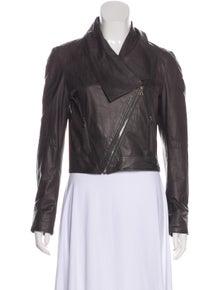 Jenni Kayne Leather Biker Jacket